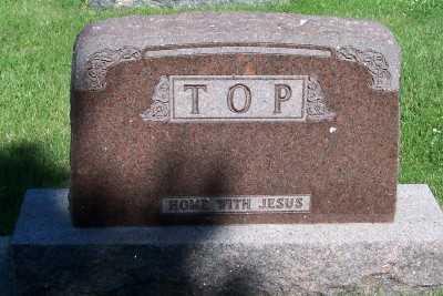 TOP, FAMILY HEADSTONE - Lyon County, Iowa | FAMILY HEADSTONE TOP