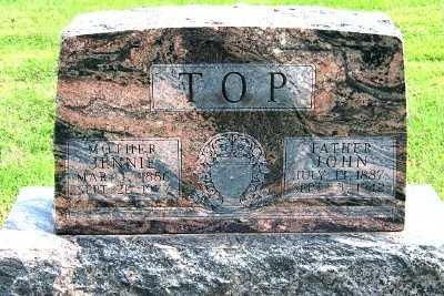 TOP, JOHN (1887-1942) - Lyon County, Iowa | JOHN (1887-1942) TOP