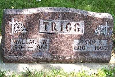 TRIGG, JENNIE R. - Lyon County, Iowa | JENNIE R. TRIGG