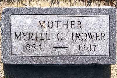 TROWER, MYRTLE C. - Lyon County, Iowa | MYRTLE C. TROWER