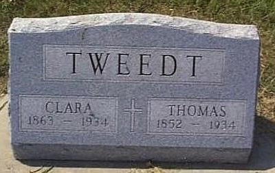 TWEEDT, THOMAS - Lyon County, Iowa | THOMAS TWEEDT