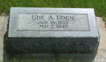 UDEN, UDE - Lyon County, Iowa | UDE UDEN