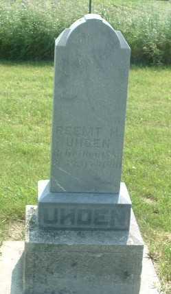 UHDEN, REEMT M. - Lyon County, Iowa | REEMT M. UHDEN
