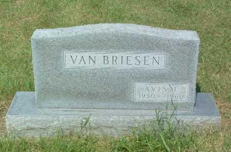 VAN BRIESEN, AVIS - Lyon County, Iowa | AVIS VAN BRIESEN