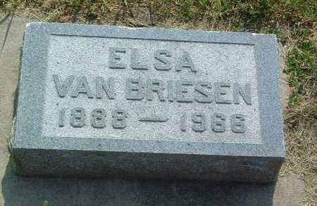 VAN BRIESEN, ELSA - Lyon County, Iowa | ELSA VAN BRIESEN