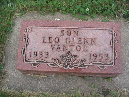 VAN TOL, LEO - Lyon County, Iowa | LEO VAN TOL