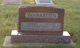 VANAARTSEN, HENRY - Lyon County, Iowa | HENRY VANAARTSEN