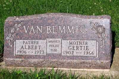 VAN BEMMEL, ALBERT - Lyon County, Iowa | ALBERT VAN BEMMEL