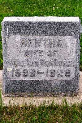 VAN DEN BOSCH, BERTHA (MRS. NEAL) - Lyon County, Iowa | BERTHA (MRS. NEAL) VAN DEN BOSCH