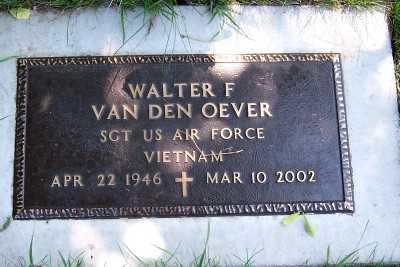 VANDENOEVER, WALTER F. - Lyon County, Iowa | WALTER F. VANDENOEVER