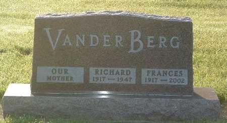 VANDER BERG, RICHARD - Lyon County, Iowa | RICHARD VANDER BERG