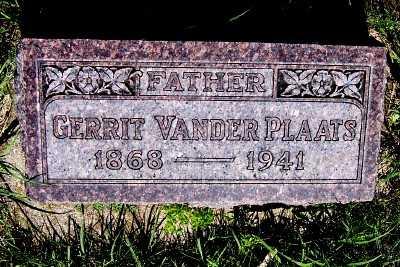 VANDER PLAATS, GERRIT - Lyon County, Iowa | GERRIT VANDER PLAATS