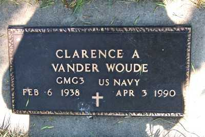 VANDER WOUDE, CLARENCE A. - Lyon County, Iowa | CLARENCE A. VANDER WOUDE