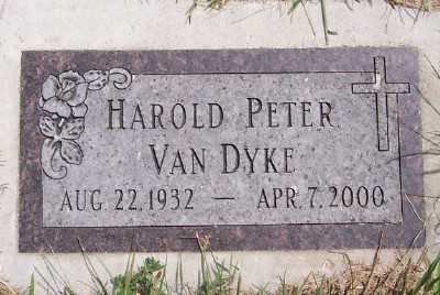 VANDYKE, HAROLD PETER - Lyon County, Iowa   HAROLD PETER VANDYKE