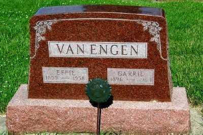 VAN ENGEN, EFFIE - Lyon County, Iowa   EFFIE VAN ENGEN