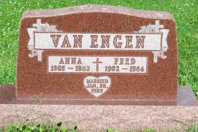 VAN ENGEN, ANNA - Lyon County, Iowa | ANNA VAN ENGEN