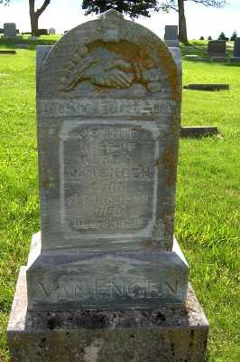 VAN ENGEN, JENNIE (MRS. GERRIT) - Lyon County, Iowa | JENNIE (MRS. GERRIT) VAN ENGEN