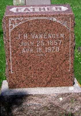 VAN ENGEN, J. H. - Lyon County, Iowa   J. H. VAN ENGEN