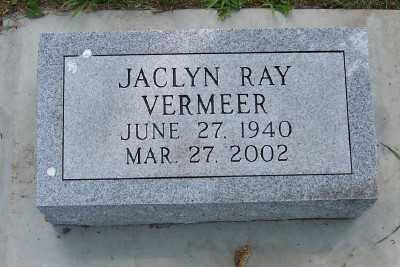 VERMEER, JACLYN - Lyon County, Iowa | JACLYN VERMEER