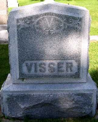 VISSER, FAMILY HEADSTONE - Lyon County, Iowa | FAMILY HEADSTONE VISSER