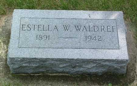 WALDREF, ESTELLA W. - Lyon County, Iowa | ESTELLA W. WALDREF