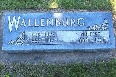 WALLENBURG, GERTRUDE - Lyon County, Iowa | GERTRUDE WALLENBURG
