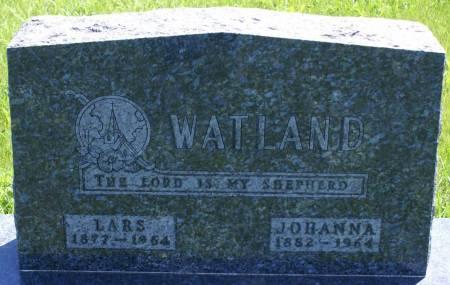 WATLAND, LARS - Lyon County, Iowa | LARS WATLAND