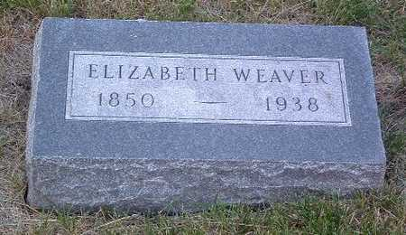 WEAVER, ELIZABETH - Lyon County, Iowa | ELIZABETH WEAVER