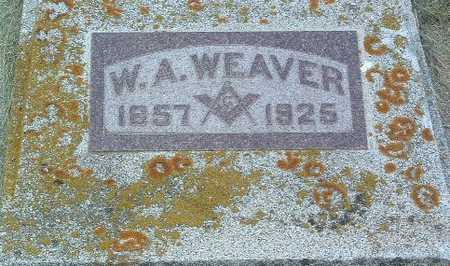 WEAVER, W.A. - Lyon County, Iowa | W.A. WEAVER