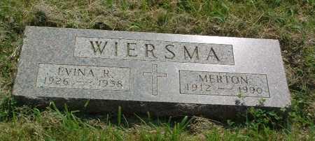 WIERSMA, MERTON - Lyon County, Iowa | MERTON WIERSMA