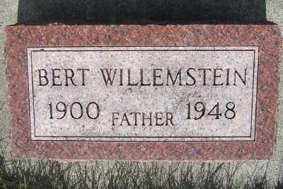 WILLEMSTEIN, BERT - Lyon County, Iowa | BERT WILLEMSTEIN