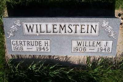 WILLEMSTEIN, GERTRUDE H. - Lyon County, Iowa   GERTRUDE H. WILLEMSTEIN