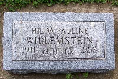 WILLEMSTEIN, HILDA PAULINE - Lyon County, Iowa | HILDA PAULINE WILLEMSTEIN