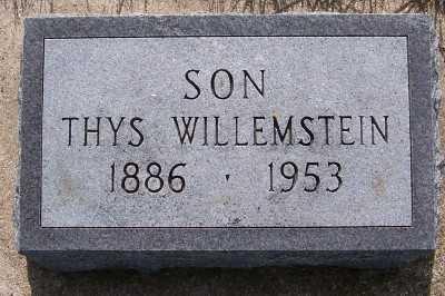 WILLEMSTEIN, THYS - Lyon County, Iowa | THYS WILLEMSTEIN