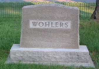 WOHLERS, FAMILY HEADSTONE - Lyon County, Iowa | FAMILY HEADSTONE WOHLERS