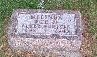 WOHLERS, MELINDA - Lyon County, Iowa   MELINDA WOHLERS
