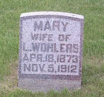 WOHLERS, MARY - Lyon County, Iowa | MARY WOHLERS