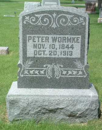 WORMKE, PETER - Lyon County, Iowa   PETER WORMKE