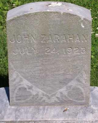 ZARAHAN, JOHN - Lyon County, Iowa | JOHN ZARAHAN