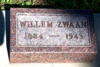 ZWAAN, WILLEM - Lyon County, Iowa | WILLEM ZWAAN