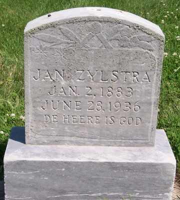 ZYLSTRA, JAN - Lyon County, Iowa | JAN ZYLSTRA