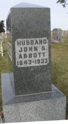 ABBOTT, JOHN SHELBY - Madison County, Iowa | JOHN SHELBY ABBOTT