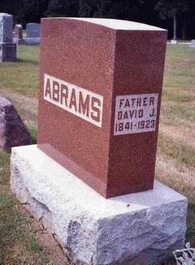 ABRAMS, DAVID JONES - Madison County, Iowa | DAVID JONES ABRAMS