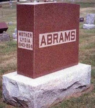 ABRAMS, LYDIA - Madison County, Iowa | LYDIA ABRAMS