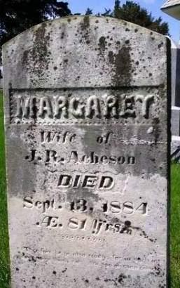 ACHESON, MARGARET - Madison County, Iowa | MARGARET ACHESON