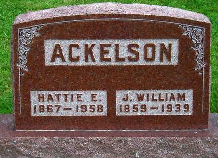 ACKELSON, JOHN WILLIAM - Madison County, Iowa | JOHN WILLIAM ACKELSON