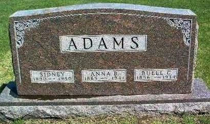 ADAMS, BUELL CLINTON - Madison County, Iowa | BUELL CLINTON ADAMS