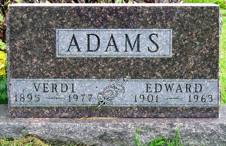 ADAMS, CHARLES EDWARD - Madison County, Iowa | CHARLES EDWARD ADAMS