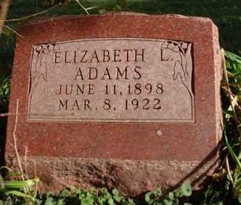 ADAMS, ELIZABETH LORRAINE - Madison County, Iowa | ELIZABETH LORRAINE ADAMS