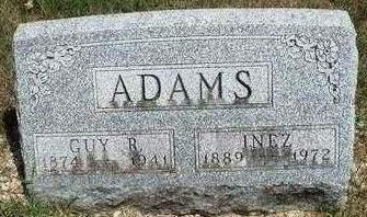 ADAMS, INEZ - Madison County, Iowa | INEZ ADAMS
